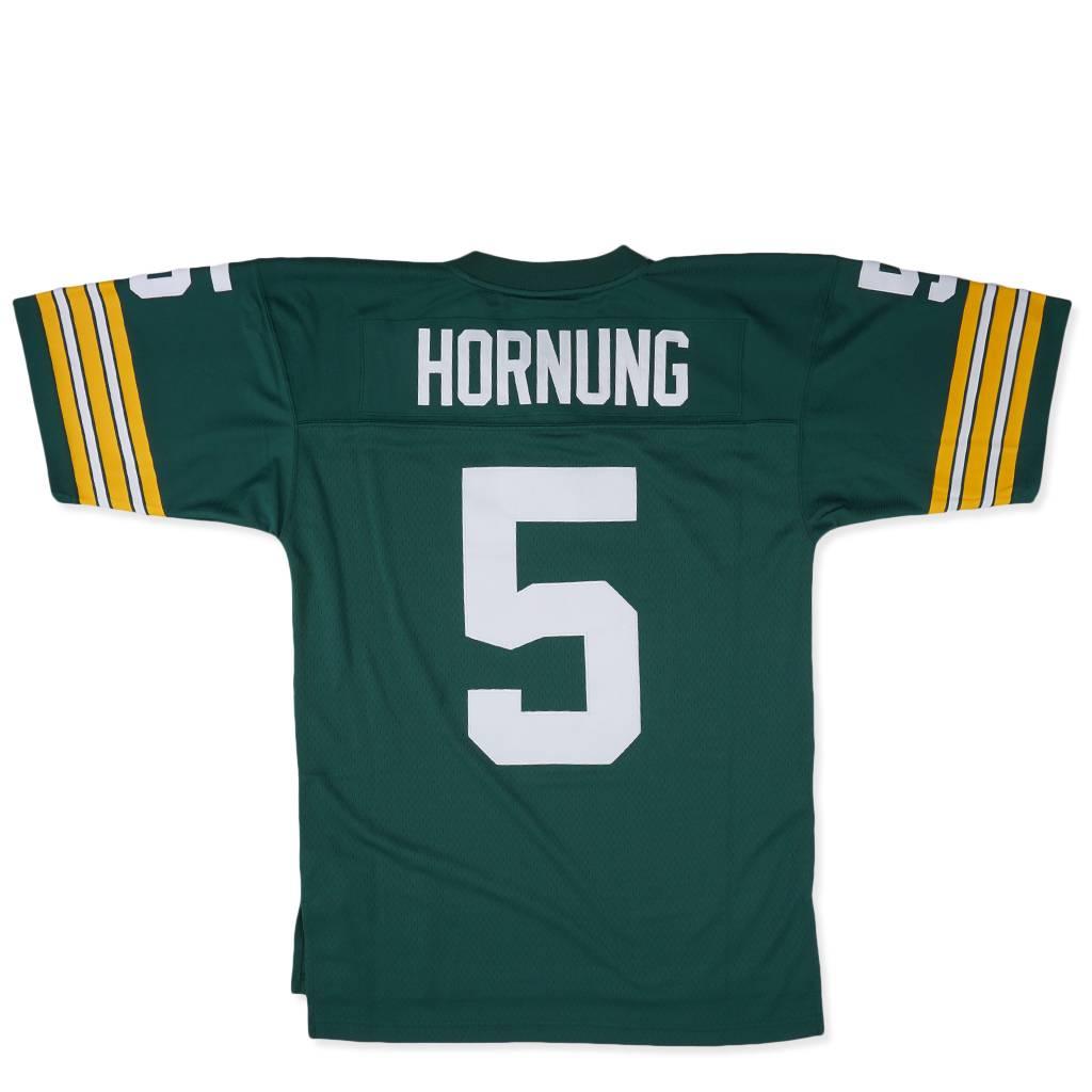 Mitchell & Ness Green Bay Packers Paul Hornung 1966 Jersey - Green   735422366PHORN   MODA3
