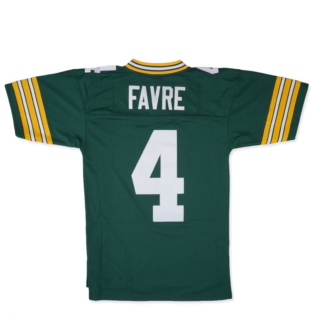 lowest price 36e93 4ccb9 Mitchell & Ness Green Bay Packers Brett Favre 1996 Jersey - Green |  735429196BFV | MODA3