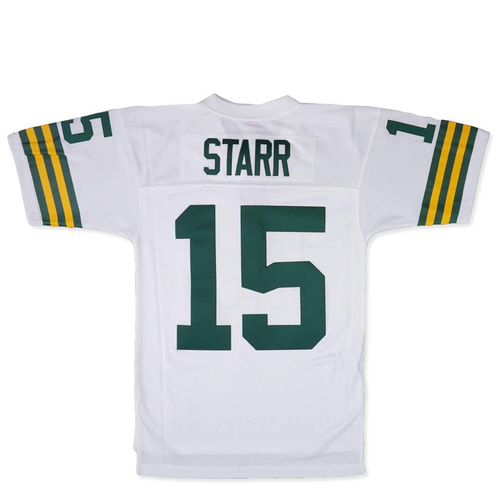 huge discount 5a127 75824 Mitchell & Ness Green Bay Packers Bart Starr 1969 Jersey - White |  73542P369BSTAR | MODA3