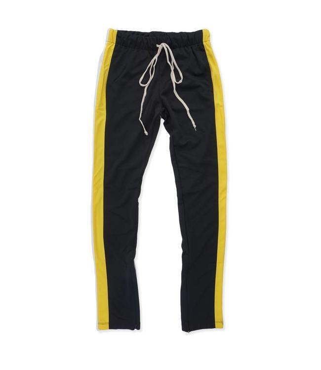 Eptm Double Stripe Track Pants Black Yellow White Moda3 Moda3