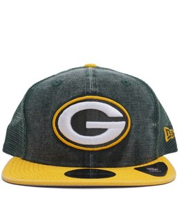 NEW ERA PACKERS RUGGED TRUCKER HAT