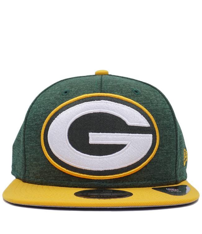 NEW ERA Packers Heathered Huge Snapback Hat