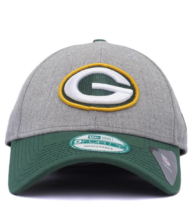 2872af361bc New Era Green Bay Packers League Heathered Hat - Heather Green ...