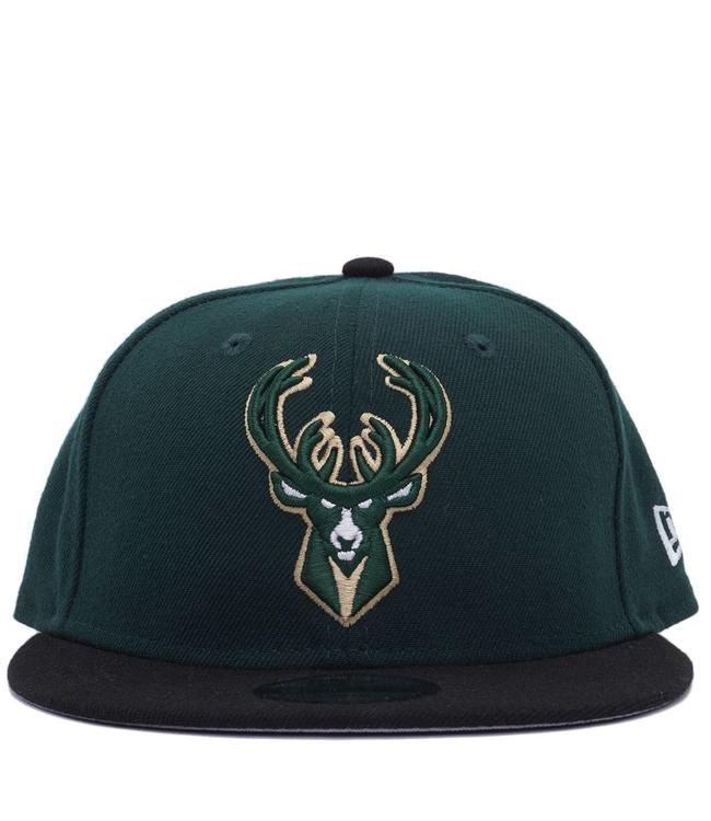 NEW ERA Bucks Kids Team Color Snapback Hat
