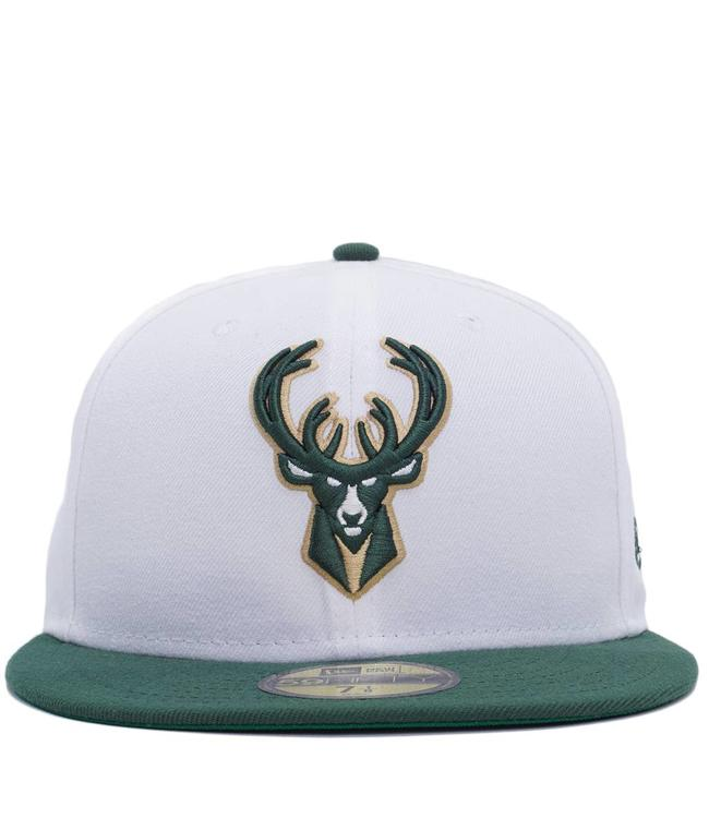NEW ERA Bucks Current Nights Fitted Hat