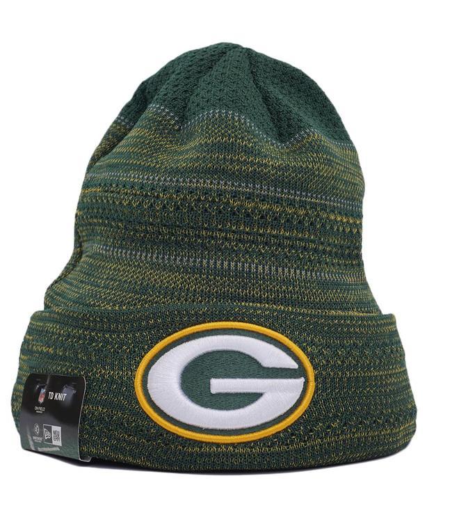 NEW ERA Packers TD Knit Beanie