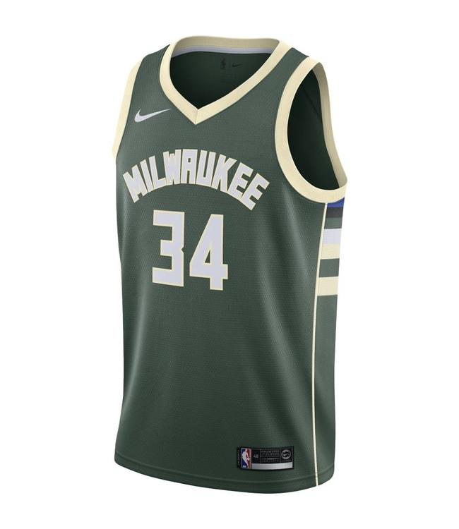 NIKE Bucks Giannis Antetokounmpo Icon Swingman Jersey