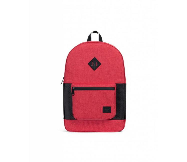 4502d63ff3 Herschel Supply Co. Ruskin Backpack - Barbados Cherry Crosshatch Black -  Aspect Collection