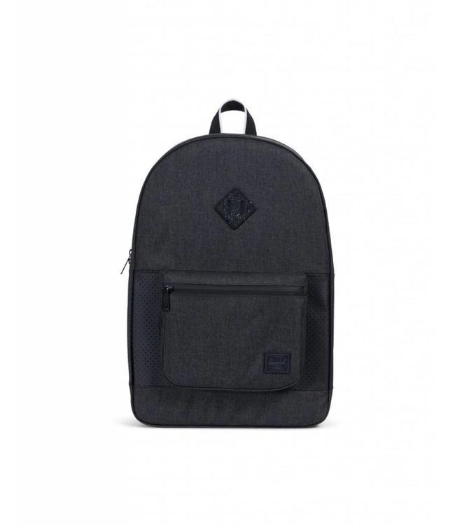 8e1d7a6b4e Herschel Supply Co. Ruskin Backpack - Black Crosshatch Black White ...
