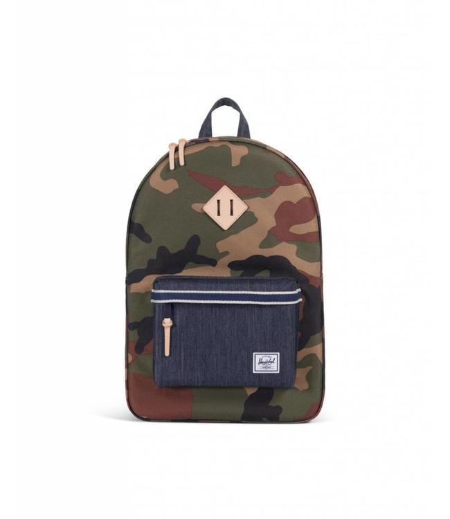 1f0971be44 Herschel Supply Co. Heritage Backpack - Woodland Camo Dark Denim ...