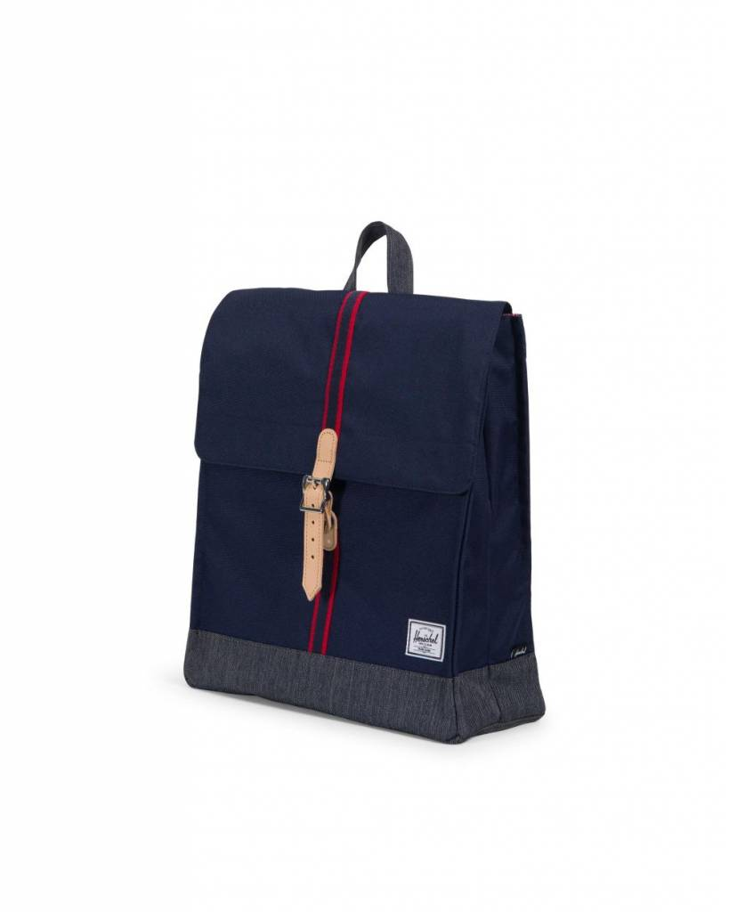 575cf7e05f26 Herschel Supply Co. City Backpack - Peacoat Dark Denim - Offset ...