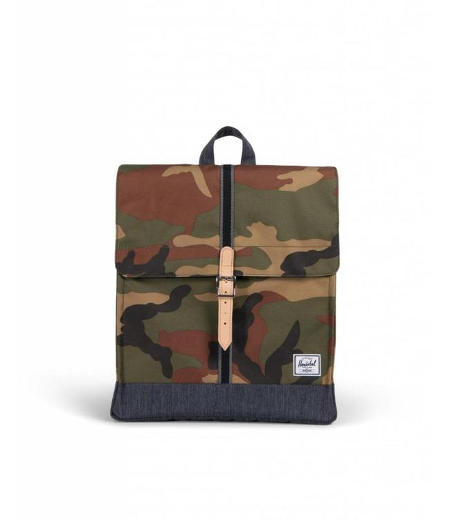 Herschel Supply Co. City Backpack - Woodland Camo Dark Denim ... 61c37613d5e41