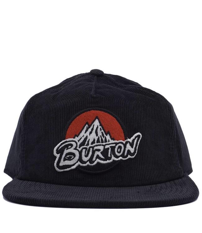 d157f32dceb Burton Retro MTN Snapback Hat - Black