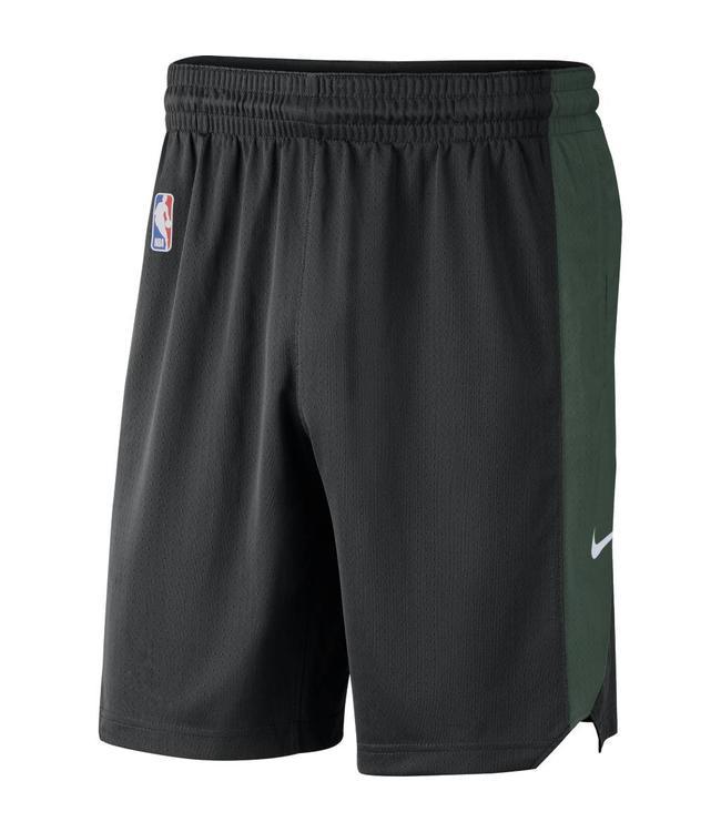 1df967e42e5c Nike Milwaukee Bucks Practice Shorts  18 - Black Fir White