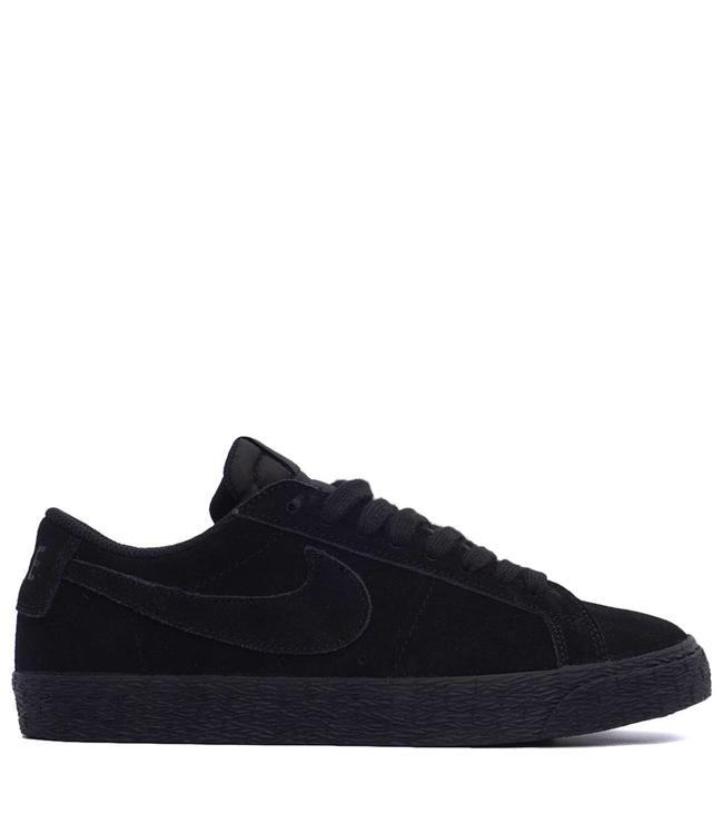 a822759545ed Nike SB Zoom Blazer Low Shoes - Black Gunsmoke