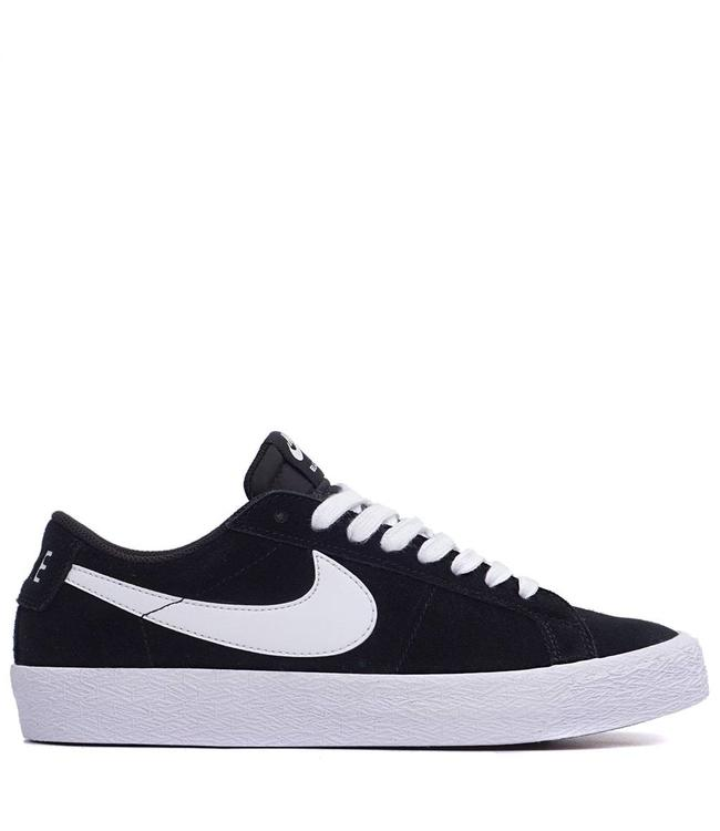 925a781792f Nike SB Zoom Blazer Low Shoes - Black White