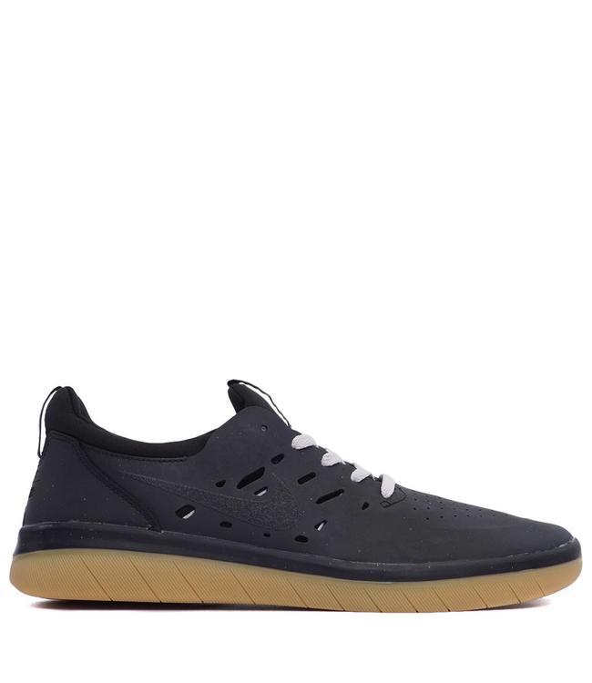 eaeac391cd98d Nike SB Nyjah Free Shoes - Black Gum Light Brown