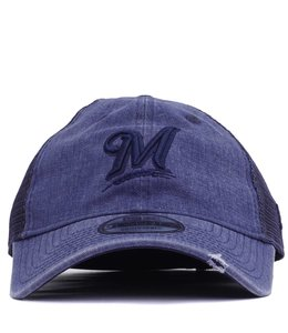 NEW ERA BREWERS TONAL WASHED HAT