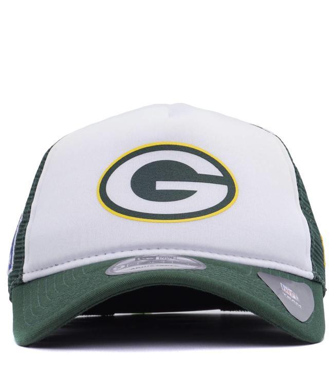 New Era Green Bay Packers Trucker Hat - Green White  e030d3906