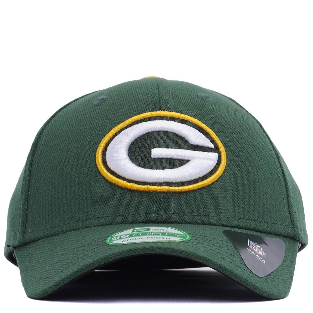 b9d127c1 New Era Green Bay Packers Kids 39Thirty Stretch Fit Hat - Green | 11355787