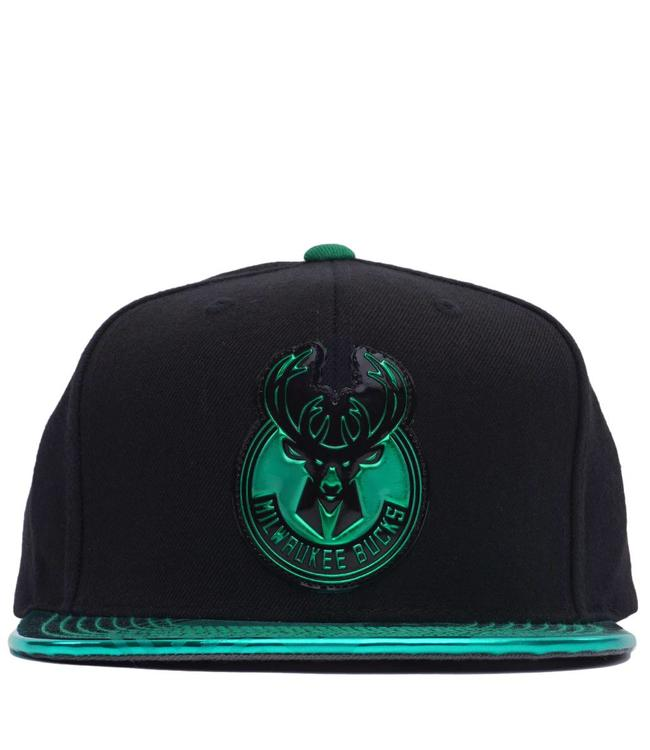 MITCHELL AND NESS Bucks Team Standard Snapback Hat