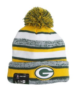 NEW ERA PACKERS SPORT KNIT BEANIE