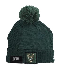 NEW ERA BUCKS ALL-STAR POM BEANIE