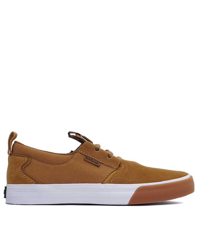 23323845e202 Supra Flow Shoes - Tan Gum