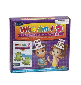RITE LITE WHO AM I? A PASSOVER GUESSING GAME GAP-6