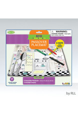 RITE LITE PASSOVER COLORING PLACEMAT TYKP-MAT-2