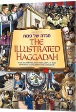 Artscroll THE ILLUSTRATED HAGGADAH HARDCOVER