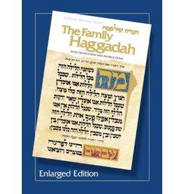 Artscroll ARTSCROLL FAMILY HAGGADAH ENLARGED P/B