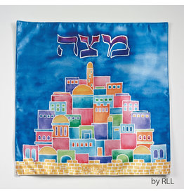 JERUSALEM SQUARE MATZAH COVER PPMC-6-S