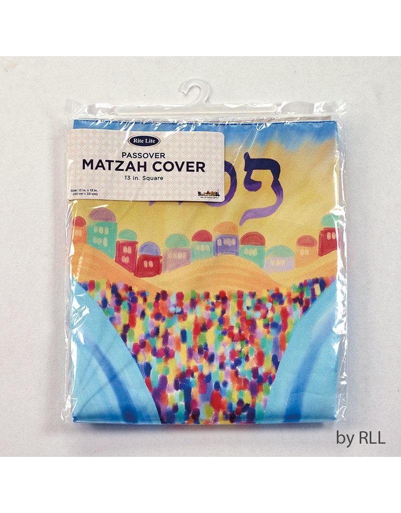 RITE LITE SPLITTING OF THE SEA SQUARE MATZAH COVER PPMC-7-S