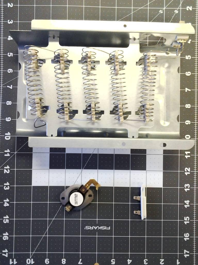 Ps334313 Heavy Duty Dryer Element Heater W Fuses 3392519