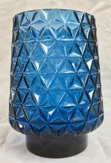 Bloomingville Blue Glass Vase