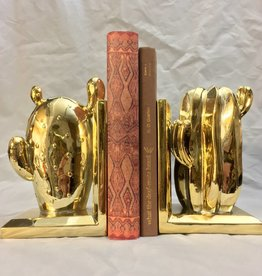 Bloomingville Gold-Finish Bookends Set of Two