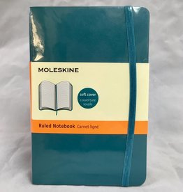 HACHETE Moleskin Small Ruled Blue