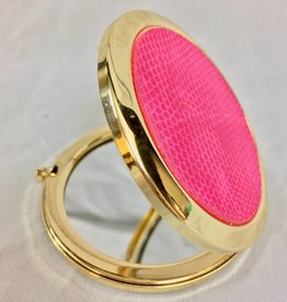 8 Oak Lane Compact Metal Pink