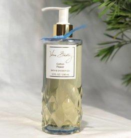 Vera Bradley Bath & Shower Gel 10 oz. Cotton Flower