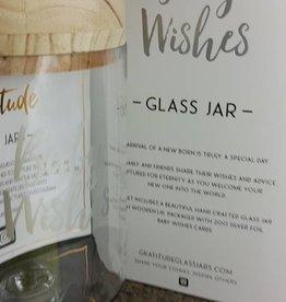 Gratitude Glass Jar Baby Wishes Glass Jar
