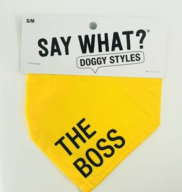 About Face Designs The Boss Small Bandana