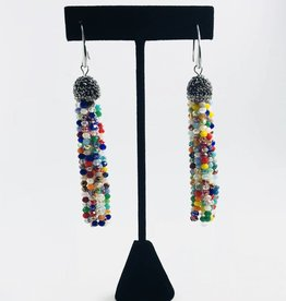Fashion Jewelry Color Earring