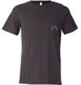 Signature Stag Pocket Crew Neck T-Shirt