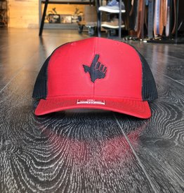 Stag GameDay Richardson 112 Trucker Hat Red/Black Texas Hand