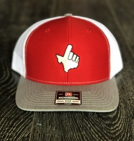 Stag GameDay Richardson 112 Grey/Red/White Silver Texas Hand