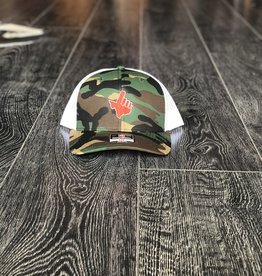 Stag GameDay Richardson 112 Camo/White Texas Hand Hat