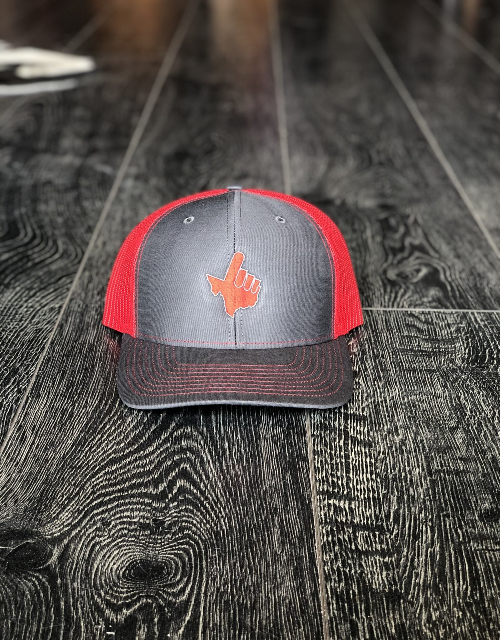 Stag GameDay Richardson 112 Charcoal/Red Texas Hand