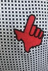 Stag GameDay Black/Grey Gingham Polo- Texas Hand/Wreck 'Em
