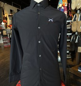 Stag GameDay Black L/S Cross Guns